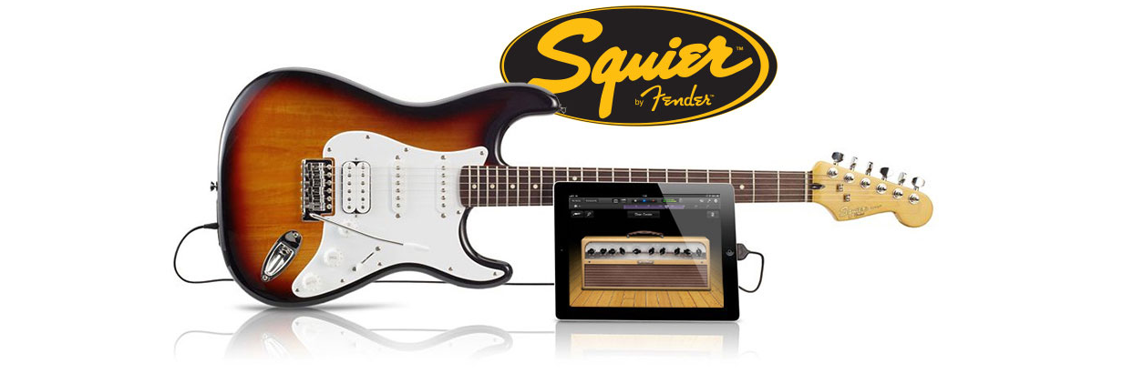 USB Guitar Released by Squier (w/ Video)