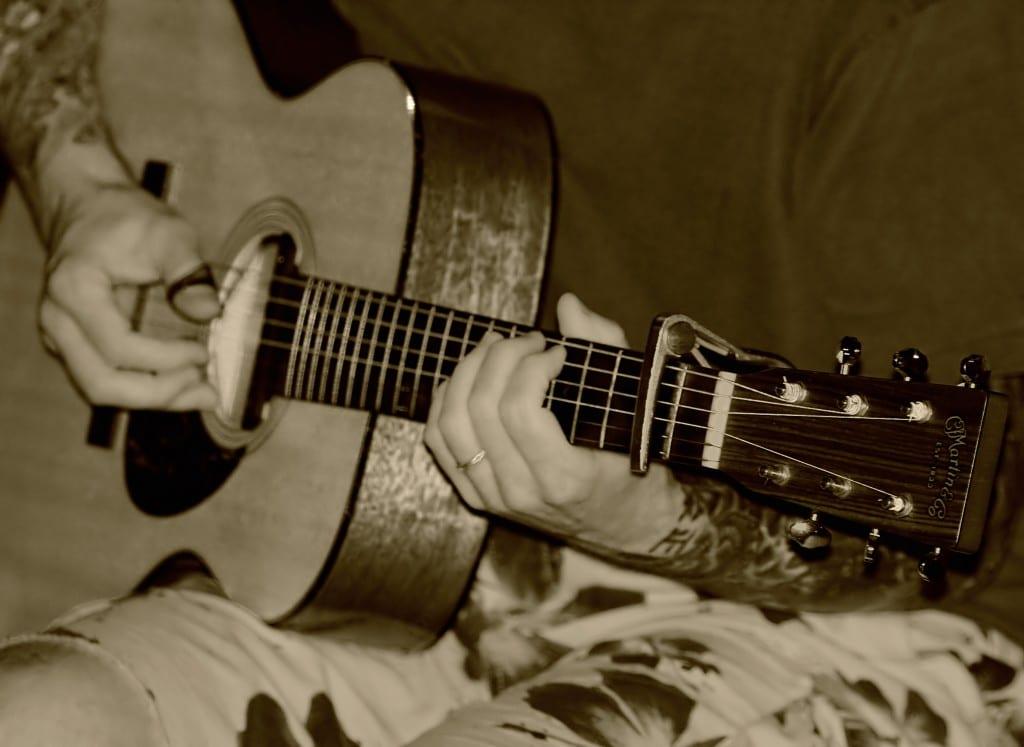 type of guitar wood, acoustic guitar