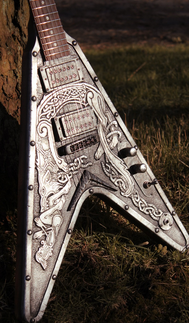 Awesome Guitar Designs by Hutchinson Guitar Concepts
